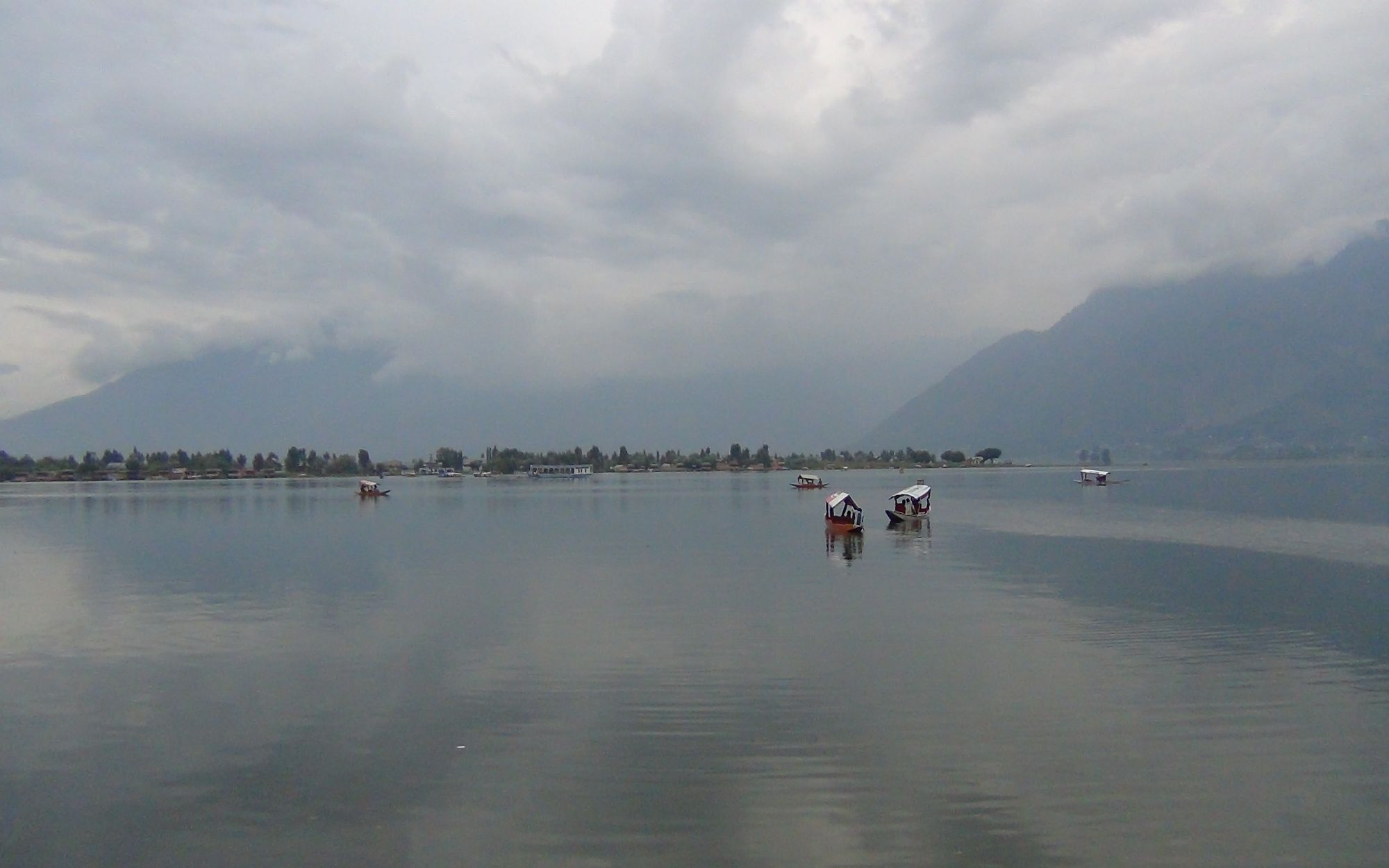 Dal Lake in the evening 2
