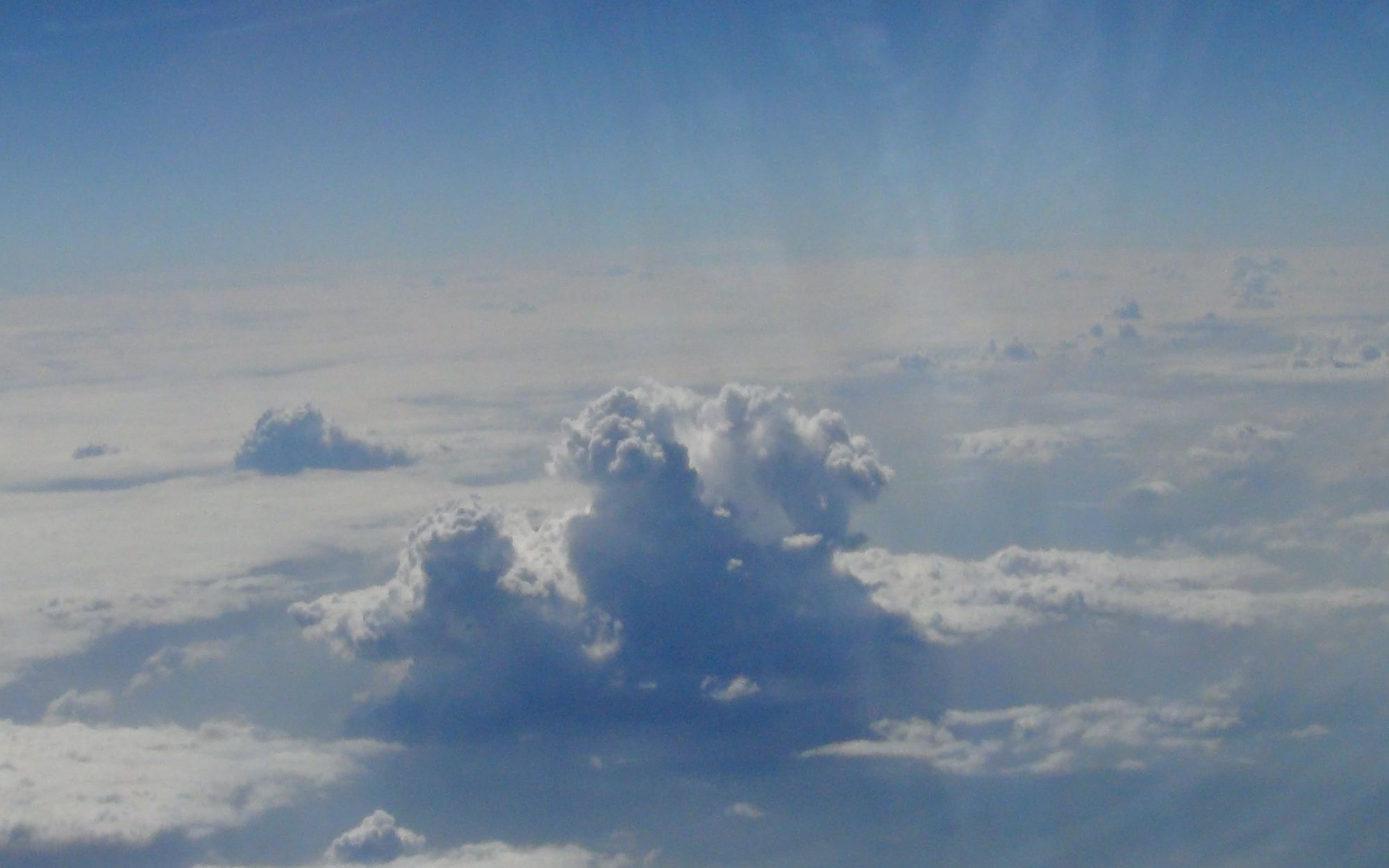 Clouds from plane 4