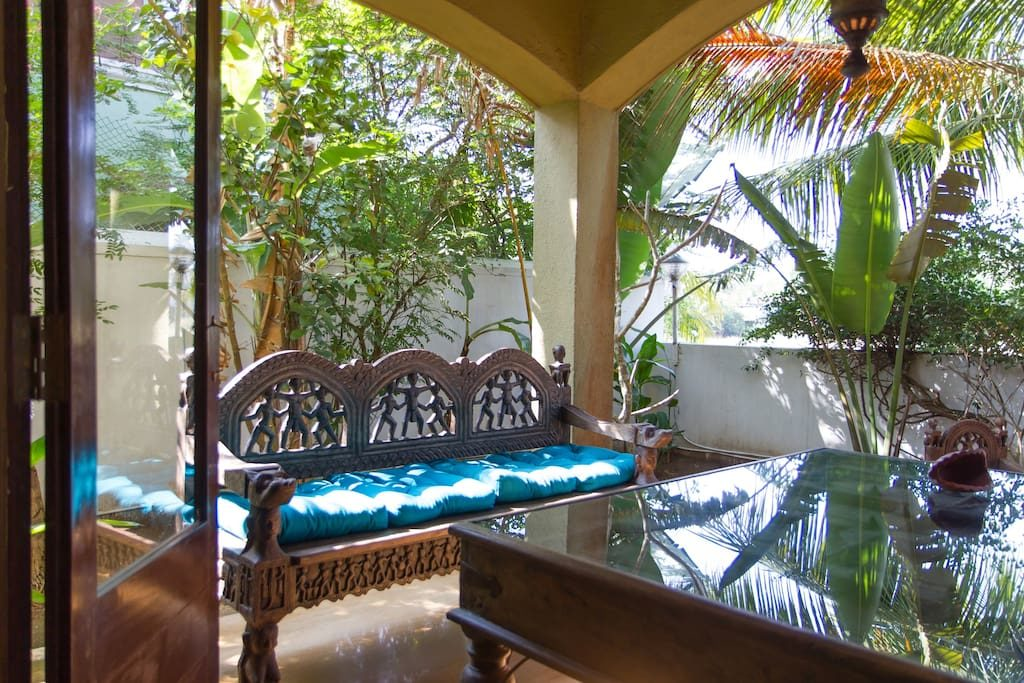 Goa Villa with common Pool near Calangute beach